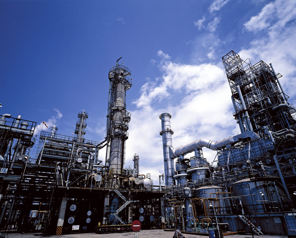 Processing plant chemical industry