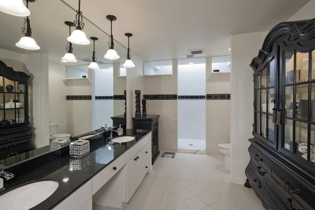 Bathroom of luxury house